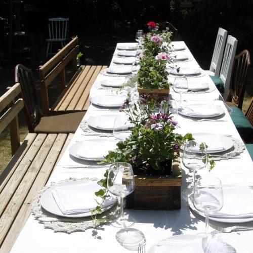 Dell 32år kalas i hans trädgård - Lisfest.se